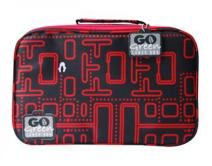 Go Green Lunch Box Set • 5 Compartment Leak-Proof Lunch Box • Insulated Carrying Bag • Beverage Bottle • Gel Freezer Pack   Adults and Kids (Packman)