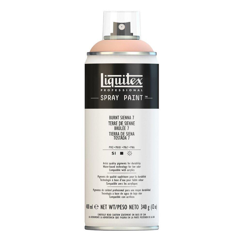 Liquitex Professional Spray Paint, Burnt Sienna 7