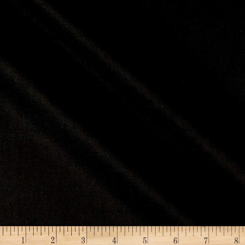 Robert Kaufman Kona Cotton Black Fabric By The Yard