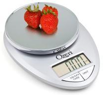 Ozeri Pro Digital Kitchen Food Scale, 0.05 oz to 12 lbs (1 gram to 5.4 kg)