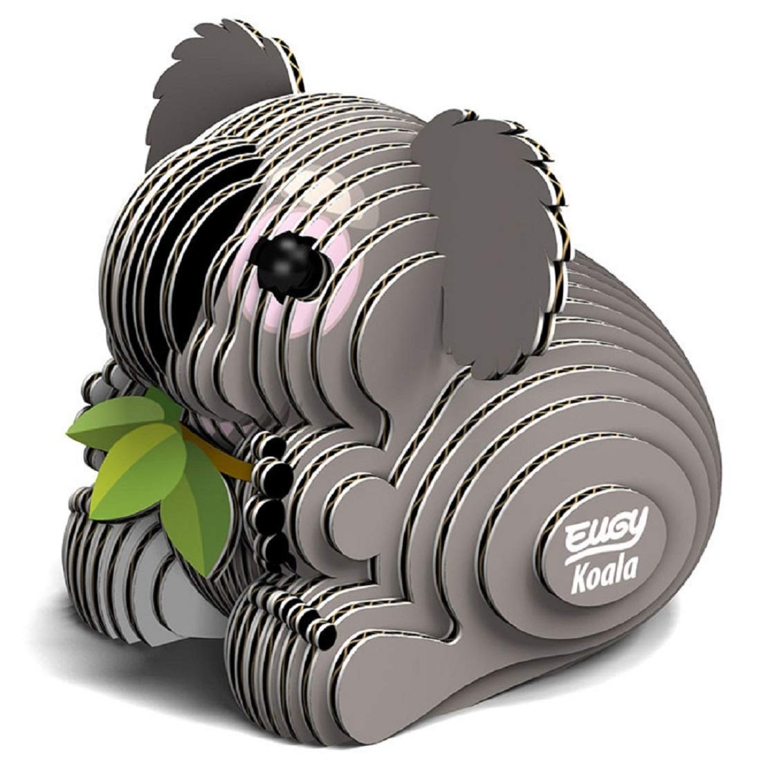 GeoToys - 3D Puzzle Koala, Eugy Cardboard Miniatures Kit - Educational Toys for School Girls and Boys, Animal Puzzle, Kid's Explorer Kit, Home, School, Gift, STEM Learning Toys for Age 6 and Up