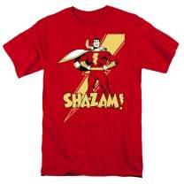 Popfunk Captain Shazam Superhero T Shirt & Stickers