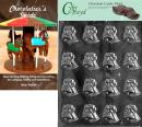 """Cybrtrayd""""Small Bells"""" Wedding Chocolate Candy Mold with Chocolatier's Guide"""