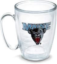 Tervis Maine University Emblem Individual Mug, 16 oz, Clear