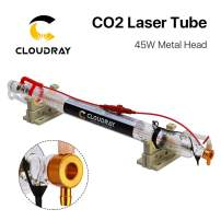 Cloudray CR Series CR45 45-55W Length 850mm Dia.50mm CO2 Laser Tube for CO2 Laser Engraving Cutting Machine