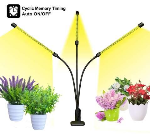 Grow Light LED For Plants Clip On
