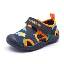 Lxso Toddler Water Shoes Quick Dry Beach Aquatic Sport Sandals for Boys Girls Little Kid