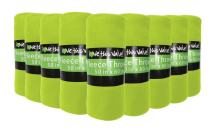 """Imperial Home 24 Pack Wholesale Soft Cozy Fleece Blankets - 50"""" x 60"""" Comfy Throw Blankets (Lime Green)"""