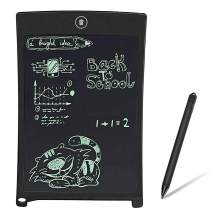 BONBON LCD Writing Tablet 8.5 Inches Electronics Writing Pad Doodle Board Handwriting Drawing Pad Gift for Kids Adults at Home,School and Office-Black