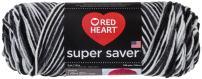 Red Heart E300.0932Super Saver Yarn, Zebra Print
