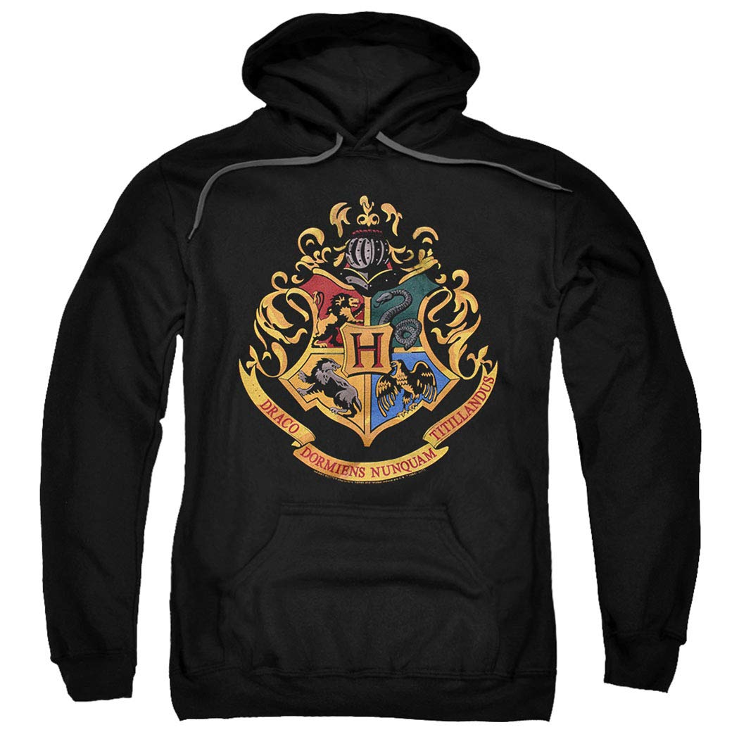 Popfunk Harry Potter Logo Pull-Over Hoodie Sweatshirt & Stickers