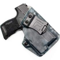 Tulster IWB Profile Holster in Right Hand fits: Sig P365/P365 SAS w/TLR-6