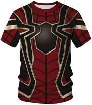 FLYCHEN Men's Colorful 3D Animal Galaxy Print T-Shirt Short Sleeve Fashion Casual Tees