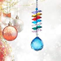 H&D 30mm Crystal Ball Prism Rainbow Maker Collection Hanging Suncatcher Wedding Favors