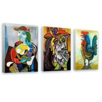 """Alonline Art - Marie Therese Rooster Weeping by Pablo Picasso 