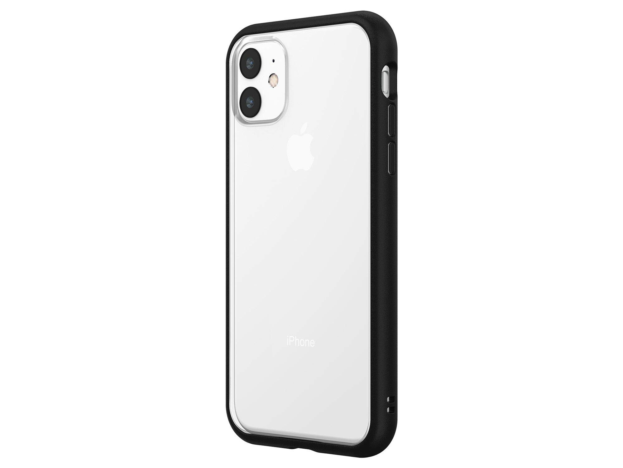 Rhinoshield Modular Case Compatible With Iphone 11 Mod Nx Customizable Shock Absorbent Heavy Duty Protective Cover Black