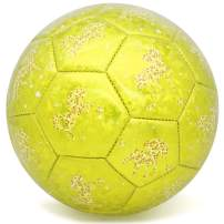 PP PICADOR Kids Soccer Ball, Sparkling Soccer Ball Cartoon Ball Toy Gift with Pump for Kids, Toddlers, Children, Boys, Girls, School, Kindergarten, Student, Baby