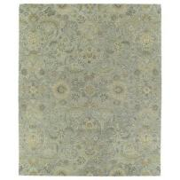 Kaleen Rugs Helena Collection 3200-77 Silver Hand Tufted 10' x 14' Rug