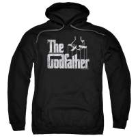 Popfunk The Godfather Movie Logo Pullover Hoodie Sweatshirt & Stickers