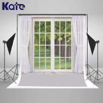 Kate 10x10ft Modern Window Photography Backdrop White Curtain Photo Backdrop Portrait Photo Studio Props