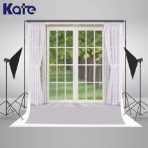 Kate 8x8ft Modern Window Photography Backdrop White Curtain Photo Backdrop Portrait Photo Studio Props