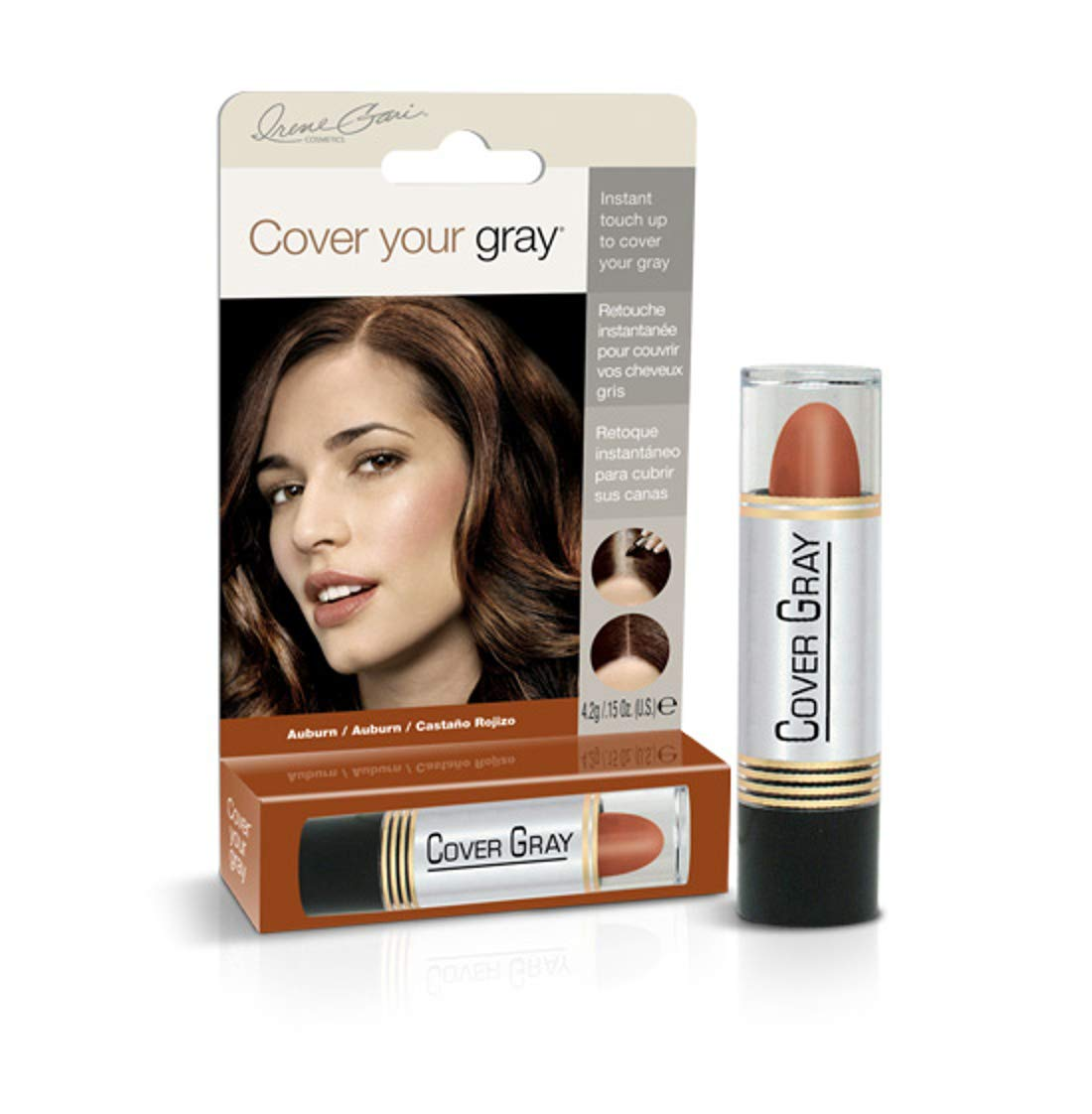 Cover Your Gray Hair Color Touch-up Stick - Auburn (6-PACK)