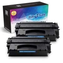 INK E-SALE Compatible Toner Cartridge Replacement for HP 53X Q7553X 49X Q5949X (Black, 2-Pack), for use with HP LaserJet P2015dn P2015 P2015d 1320 1320n 3390 3392 M2727nf P2014 P2010 Printer