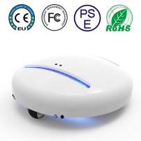 CleanseBot Bed Cleaning Robot, Auto-Pilot Cleaner AI Controller 99.99% UV-C Cleaning Robot Portable Not Falling Suitable for Bed Sofa, Blanket, Home, Travel and Hotel
