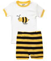 Leveret Kids & Toddler Pajamas Boys Shorts 2 Piece Pjs Set 100% Cotton Sleepwear (2-10 Years)