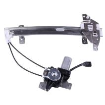 Power Window Lift Regulator on Rear Left Drivers Side with Motor Assembly Replacement for 1997-2005 Buick Century 1997-2004 Buick Regal 1998-2002 Oldsmobile Intrigue