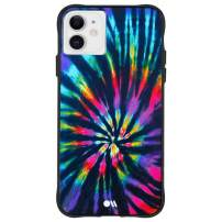 Case-Mate - iPhone 11 Case - TIE DYE - Opaque Color Design - 6.1 - DIY Rainbow
