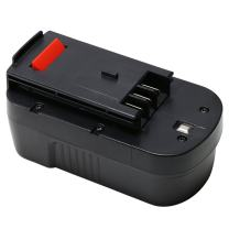 HPB18-OPE 18V 2.0Ah Ni-CD Replacement Battery for Black and Decker HPB18 FSB18 Cordless Power Tools 244760-00 A1718 A18FS18FL Firestorm Black & Decker 18-Volt Battery by REEXBON