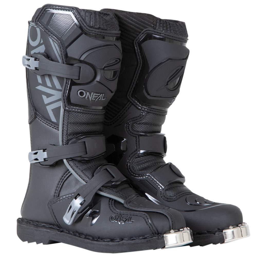 O'Neal 0332-112 Unisex-Child Element Dirtbike Boots (Black, 5)