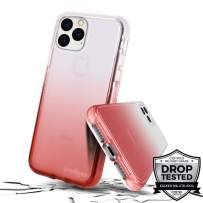 Prodigee [Safetee Flow for iPhone 11 Pro] Blush Case Rose Pink Clear Transparent Military Drop Shock Test Protective Thin Slim Gradient Multi Color Cover 5.8''