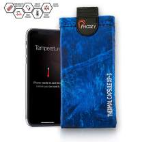 PHOOZY Realtree XP3 Thermal Phone Case - Helps Protect from Sun/Heat, Extends Battery Life, Floats in Water. for 8+/Xr/Xs Max/11/11 Pro Max, S8+/S9+/S10+ and Similar Phones [Marlin Blue - XL Size]