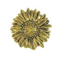 Jim Clift Design Sunflower Gold Lapel Pin