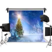 Kate 7x5ft/2.2m(W) x1.5m(H) Holiday Winter Photography Backdrops Christmas Tree Background Winter Wonderland Background Photo Studio