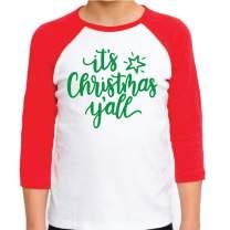 Kids Christmas Shirt for Boys and Girls Merry Christmas Y'all
