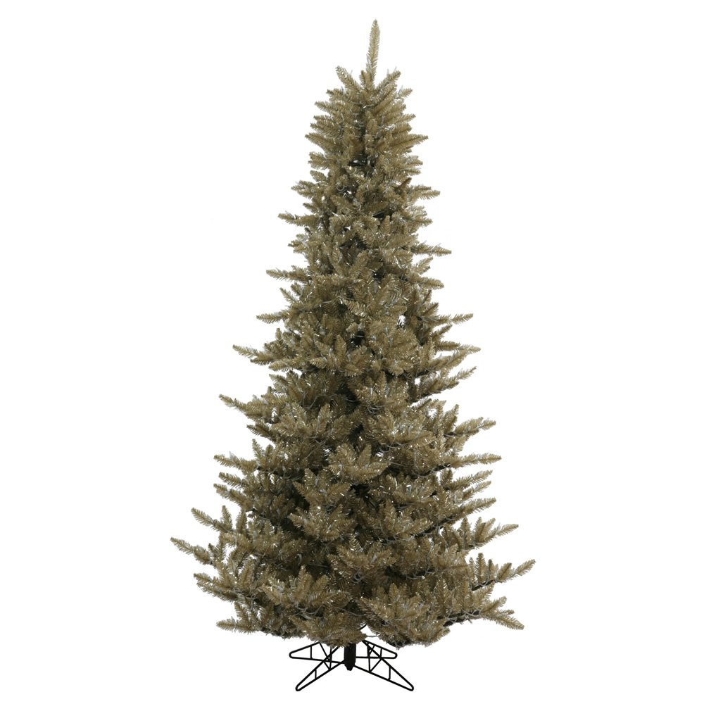 Vickerman Antique Champagne Fir Christmas Tree