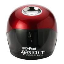 Westcott PRO-Point CarboTitanium Ball Battery Pencil Sharpener
