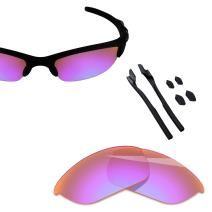 BlazerBuck Polarized Replacement Lenses & Sock Kit for Oakley Half Jacket 2.0 OO9144