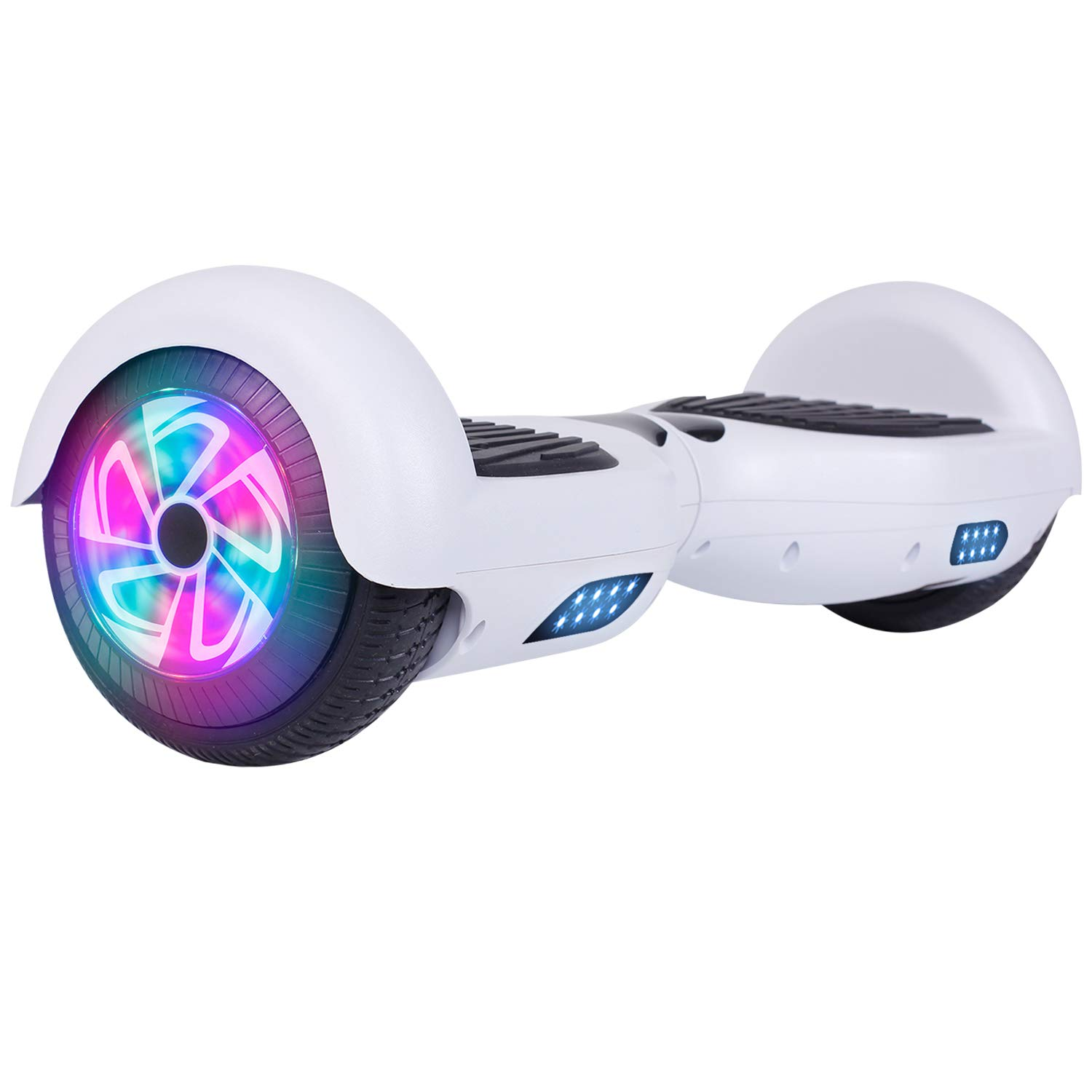 "LIEAGLE Hoverboard, 6.5"" Self Balancing Scooter Hover Board with Bluetooth, UL2272 Certified Wheels LED Lights for Adult Kids"