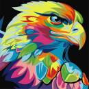 Diamond Painting Kits for Adults Kids, 5D DIY Animals Eagle Diamond Art Accessories with Round Full Drill for Home Wall Decor - 11.8×11.8Inches
