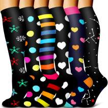 Copper Compression Socks-Compression Socks Women and Men-Best for Running,Athletic,Nursing,Hiking