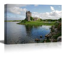 """wall26 - Canvas Prints Wall Art - View of The Dunguaire Castle, Kinvara Bay, Galway, Ireland 