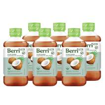 Berri Lyte Coconut Pediatric Electrolyte Drink Solution | Completely Organic - Non-GMO - Plant Based - Gluten Free - Paleo Friendly | Pediatrician Approved for Kids & Babies |1 Liter| 6-Pack