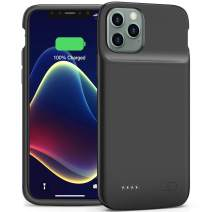Battery Case for iPhone 11 Pro, Smiphee iPhone 11 Pro Battery Case, 4800mAh Portable Protective Charging Case Extended Rechargeable Charger Case Smiphee (Black).