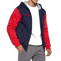 Modern Fantasy Men's Camo Thicken Hoodie Jackets Fleece Sherpa Lined Warm Coat Classic Winter Outwear