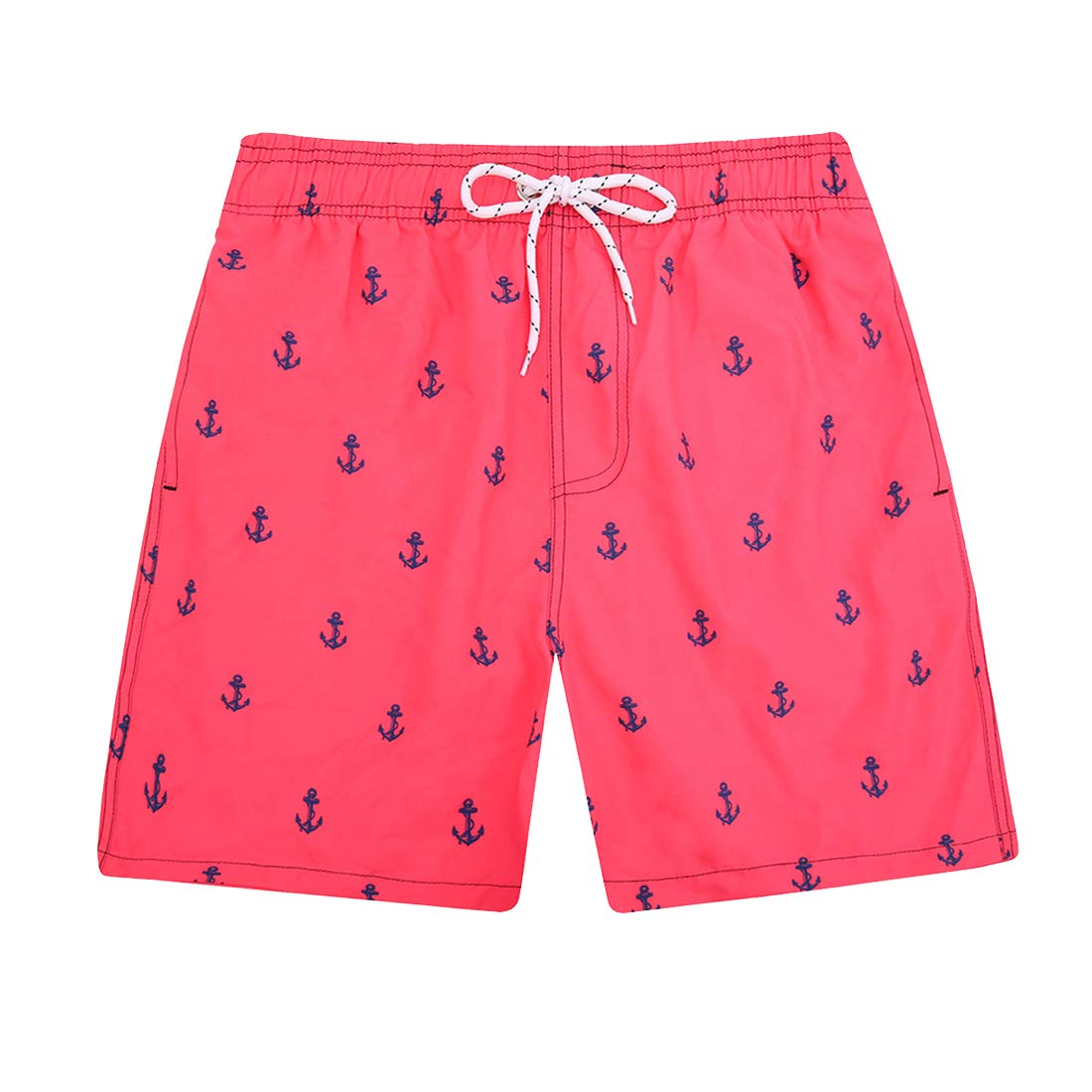UNICOMIDEA Boys Beach Shorts Quick Dry Beach Swim Trunks Kids Swimsuit Beach Shorts with Mesh Lining for 5-14 Years