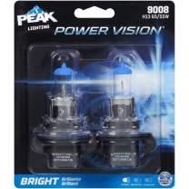 PEAK Power Vision Automotive Performance Headlamp, 9008 H13, 2 Pack